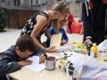 L'atelier pour enfants , animé par Marion