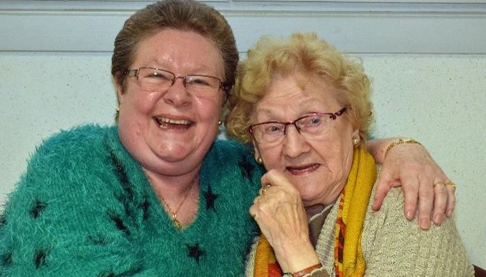 Angele et Nadine